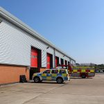 Staffordshire Fire & Rescue Transport Depot